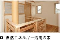 自然エネルギー活用の家