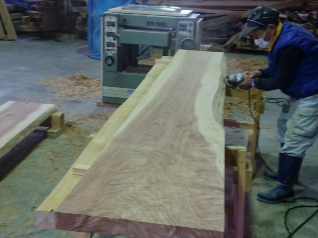 式台板加工1