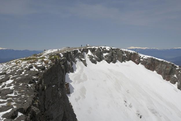 s-0958硫黄岳断面