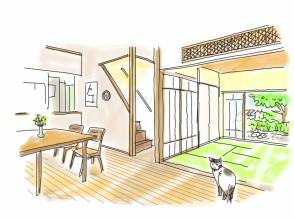 """富山と暮らす """"風が通り抜け 自然素材の生きる家""""完成内見会 7/25.26(土・日)婦中町上井沢にて  ご来場ありがとうございました。"""